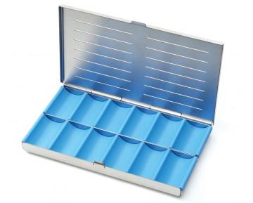 Caja Esterilización con Compartimentos