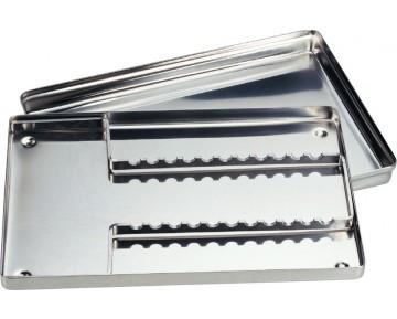 Bandejas Acero Inox no Perforadas