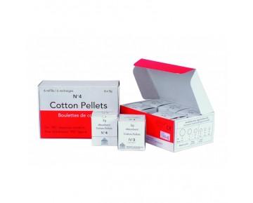 Pellets de algodón