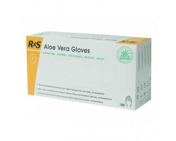 Guantes Aloe Vera, de látex sin polvo