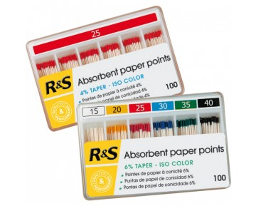 Puntas de papel ISO Taper 4%