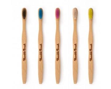 Cepillos de dientes de bambú 100%