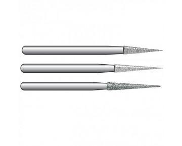 Fresas de diamante para turbina, modelos 852, 858 y 859