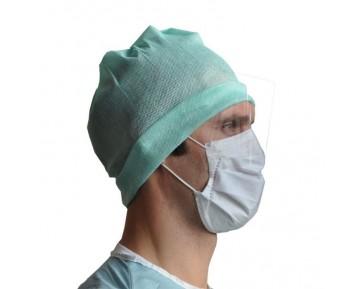 Mascarillas médicas tipo IIR con visera