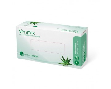 Guantes Veratex Aloe Vera sin polvo (100 uds.)